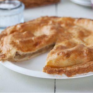 Callaghans churchill village shop homemade apple tart
