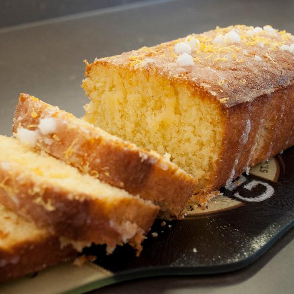 callaghans churchill locallt baked lemon drizzle cake